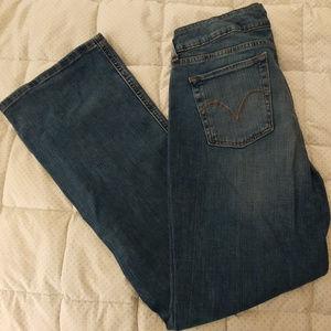 Levi's 526 Slender Boot Cut Jeans.